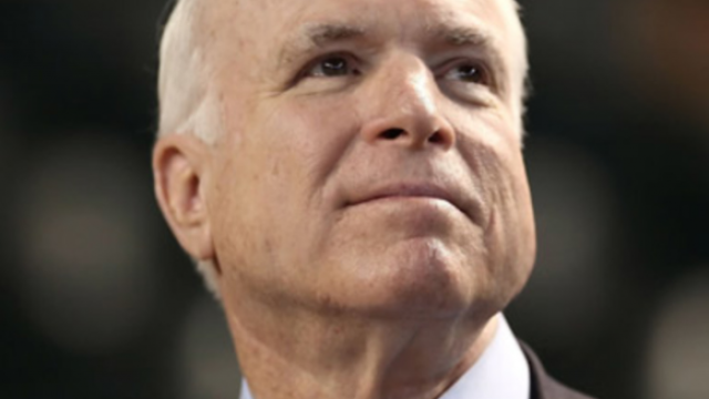 Senator McCain: Optimism, Education & Hope